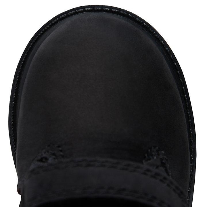 Double Strap Chukka Boot voor Peuters in zwart-