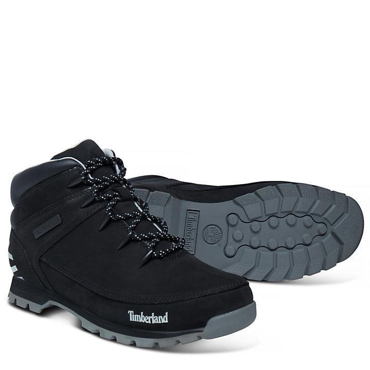 Men's Euro Sprint Hiker Mid Boot Black-