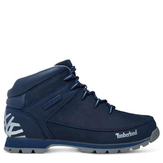 Men's Euro Sprint Hiker Mid Boot Navy | Timberland