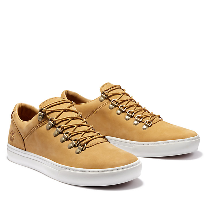 Adventure 2.0 Alpine Oxford for Men in Yellow Nubuck-