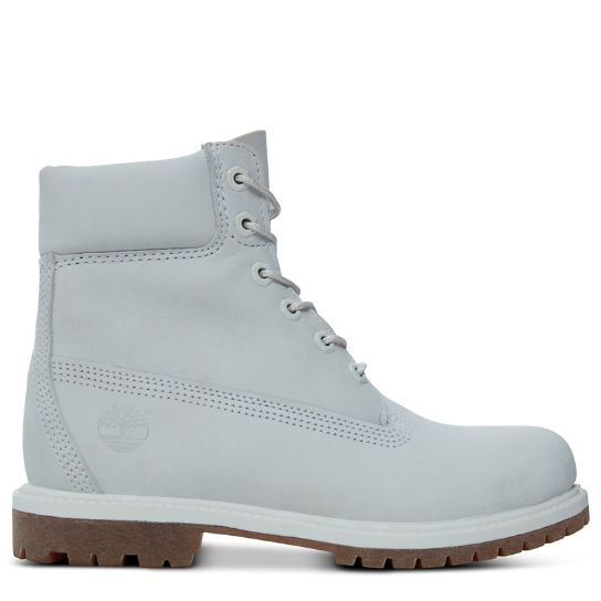 Premium 6 Inch Boot for Women in Pale Grey | Timberland
