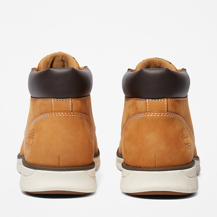 Bradstreet Leather Chukka for Men in Yellow-