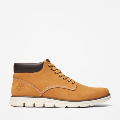 Bradstreet+Leather+Chukka+voor+Heren+in+geel