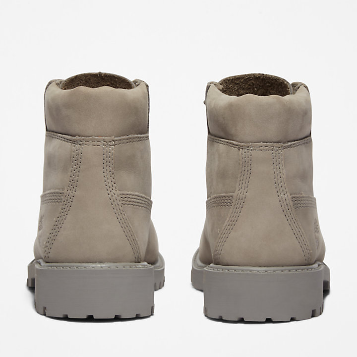 6 Inch Premium Boot for Youth in Grey-