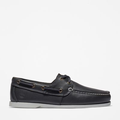 Cedar+Bay+Boat+Shoe+for+Men+in+Navy