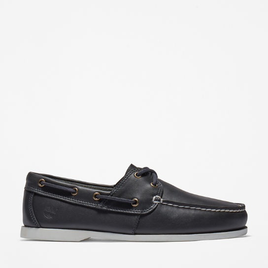 Cedar Bay Boat Shoe for Men in Navy | Timberland