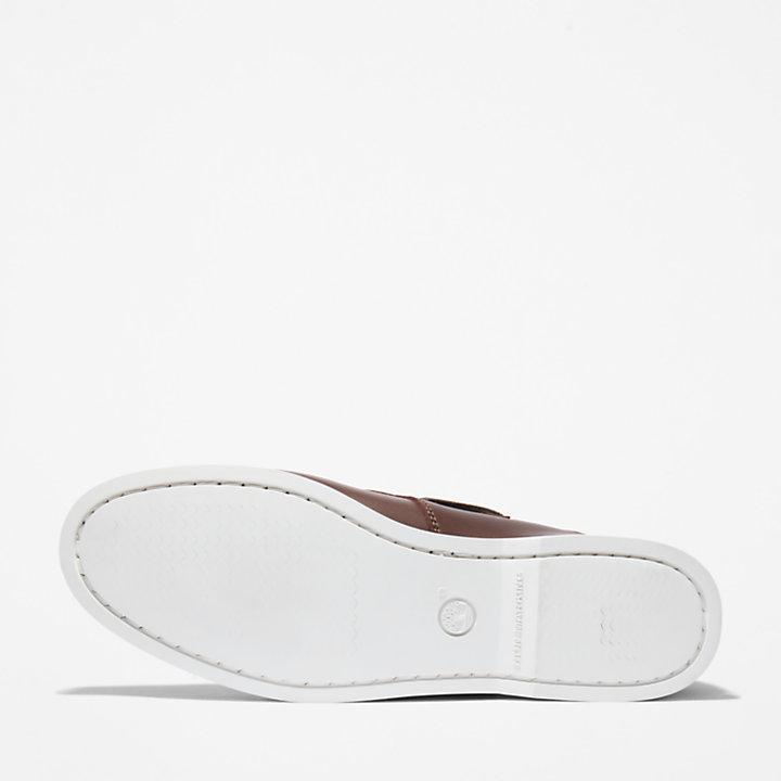 Cedar Bay Boat Shoe for Men in Brown-