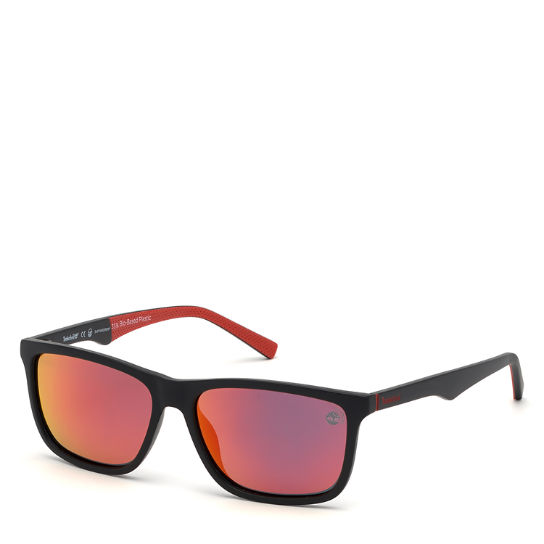 Rectangle Sunglasses for Men in Black | Timberland