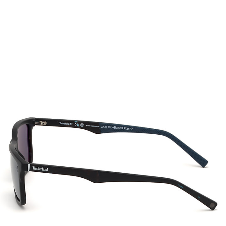Rectangle Sunglasses for Men in Blue-