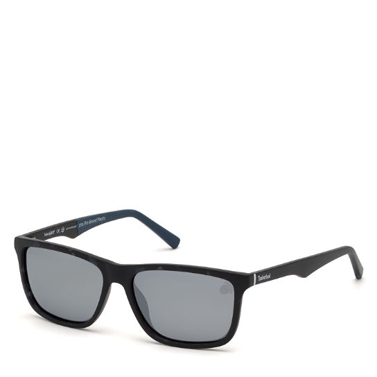 Rectangle Sunglasses for Men in Blue | Timberland