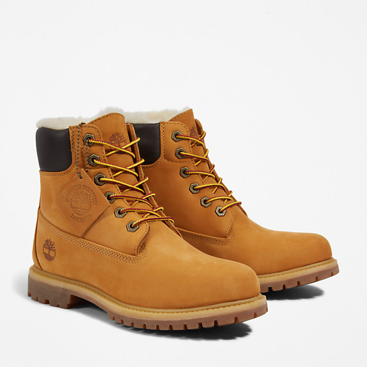 Premium 6 Inch Boot for Women in Yellow-