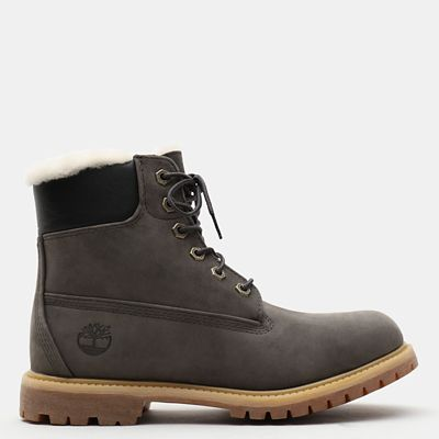 Premium+6+Inch+Boot+for+Women+in+Grey