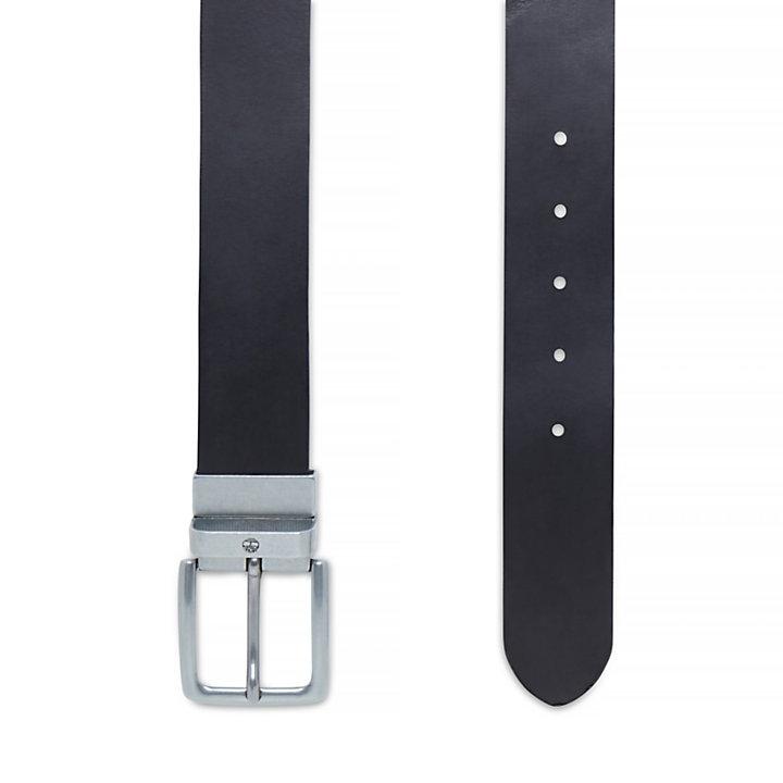Reversible Belt for Men in Black-
