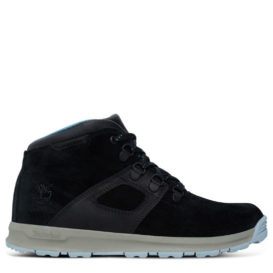 GT Scramble Mid Leather Boot Junior Noir | Timberland