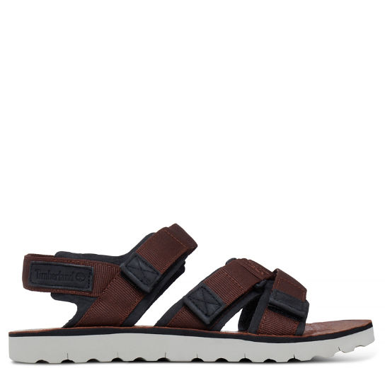 Pierce Point Sandal Hombre Marrón | Timberland