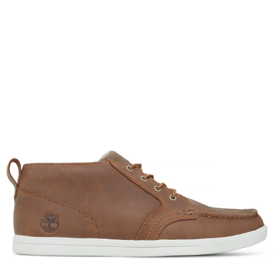 Fulk Low Profile Moc Toe Leather Chukka para hombre | Timberland