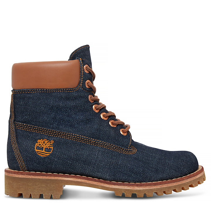 Timberland® Heritage 6 Inch Denim Boot Homme | Timberland