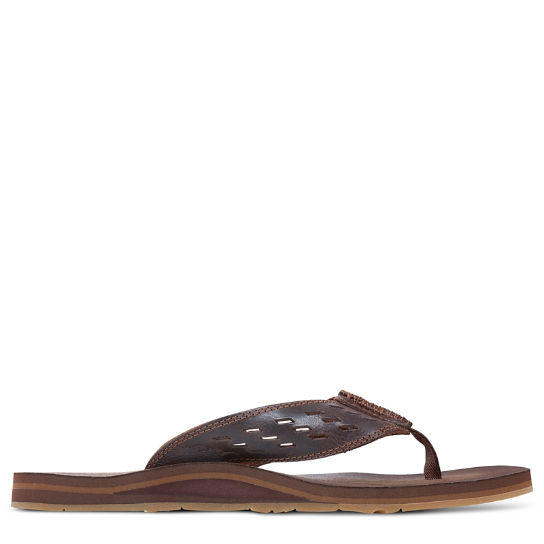 Men's Sea Haven Leather Sandal | Timberland
