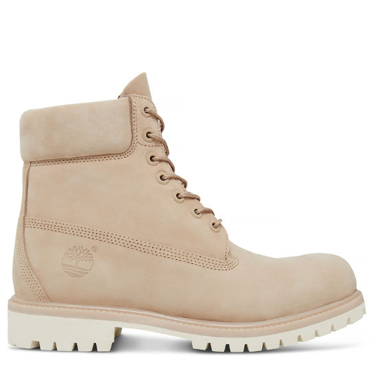 Premium 6 Inch Boot for Men in Beige | Timberland
