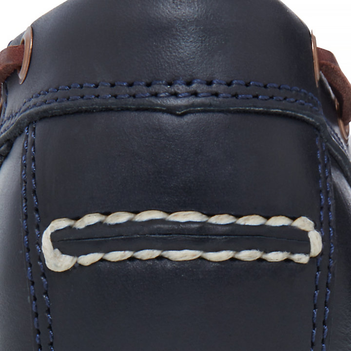 Tidelands Boat Shoes for Men in Indigo-