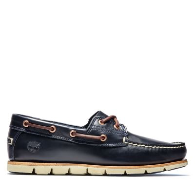 Tidelands+Boat+Shoes+for+Men+in+Indigo