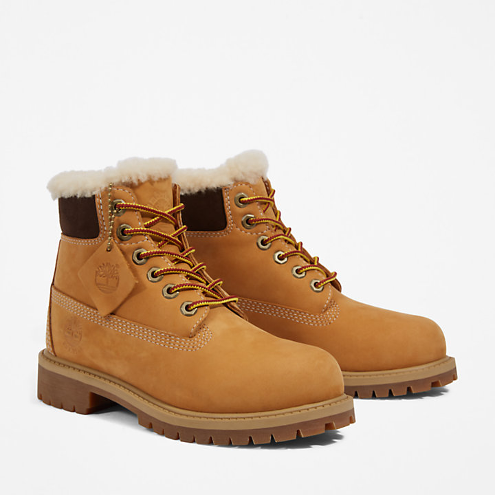 Icon Premium 6 Inch Boots für Kinder in Gelb-