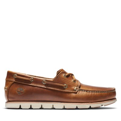 Tidelands+Boat+Shoes+for+Men+in+Brown