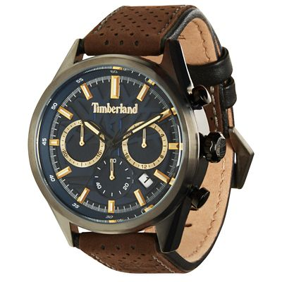 Randolph+Watch+for+Men+in+Navy%2FBrown