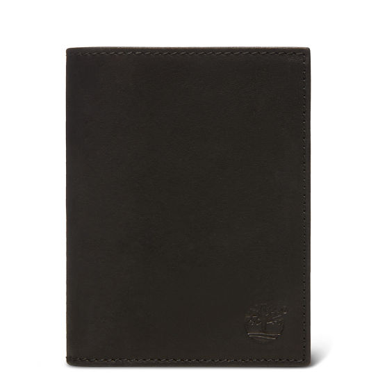 Sauvage Vertical Wallet for Men in Black | Timberland