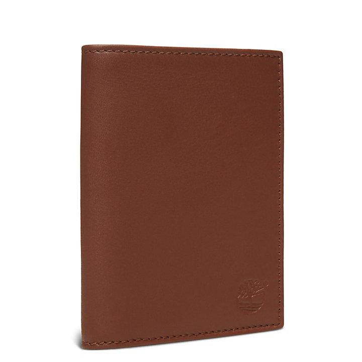 Portefeuille vertical Sauvage pour homme en marron-