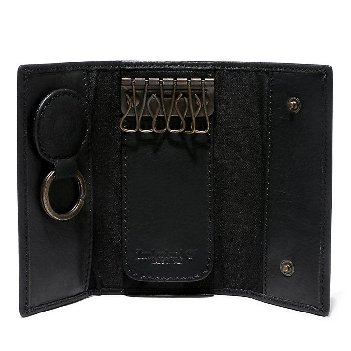 Porte-clés classique  pour homme en noir-