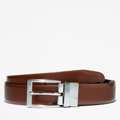 Reversible+Belt+for+Men+in+Brown