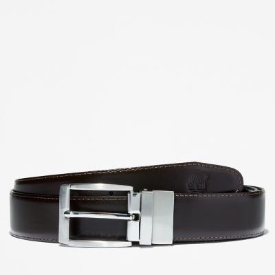 Reversible+Belt+for+Men+in+Dark+Brown