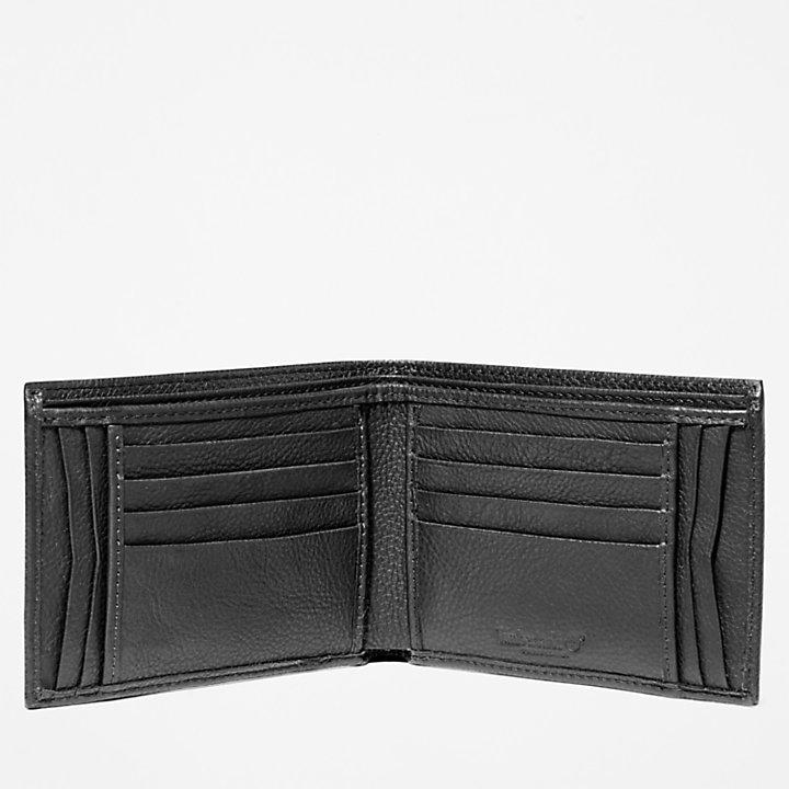 Große Kennebunk Brieftasche für Herren in Schwarz-