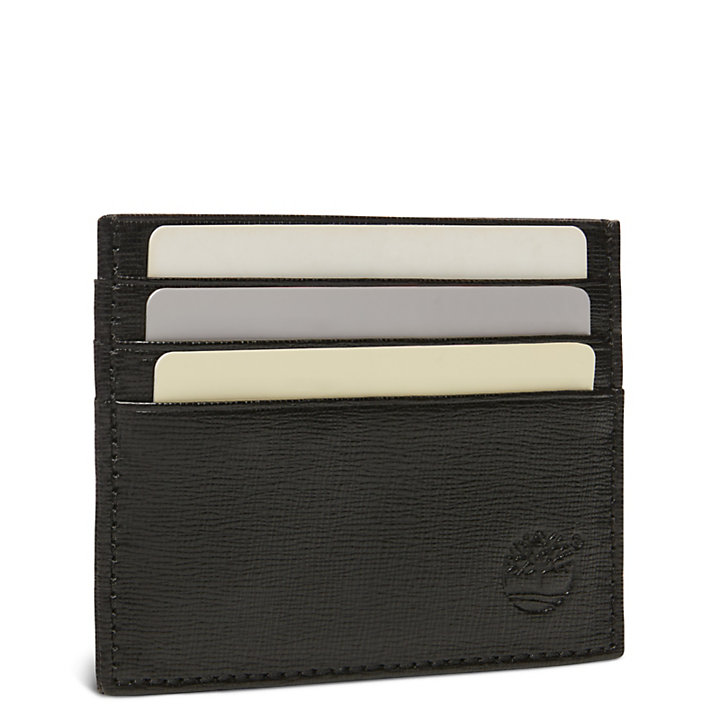 Boulder Loop Card Holder for Men in Black-