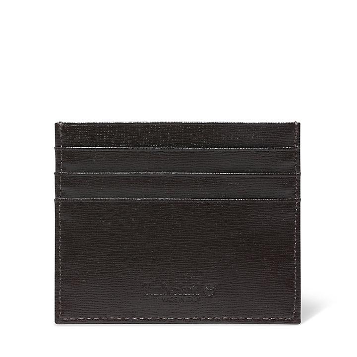 Porta Carte di Credito da Uomo in marrone scuro-