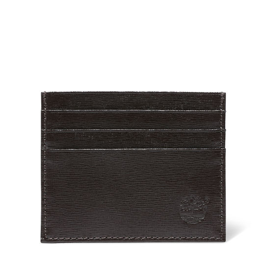 Credit Card Holder for Men in Dark Brown | Timberland