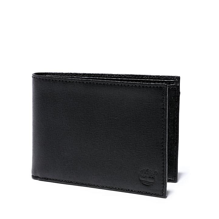 Large Wallet for Men in Black-