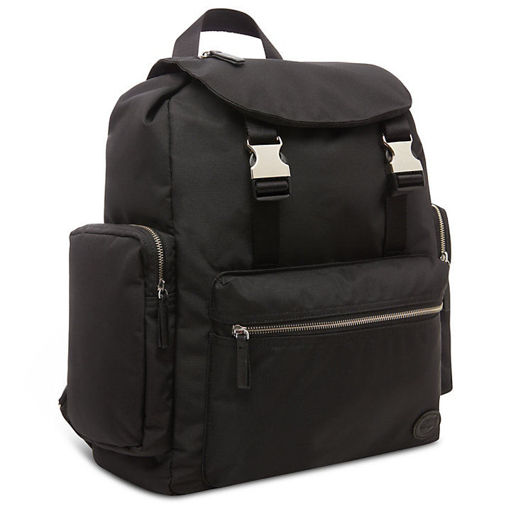 Large Backpack for Men in Black-