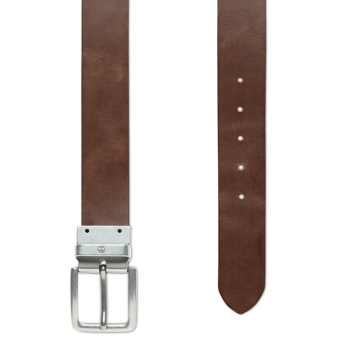 Reversible Leather Belt for Men in Black/Brown-