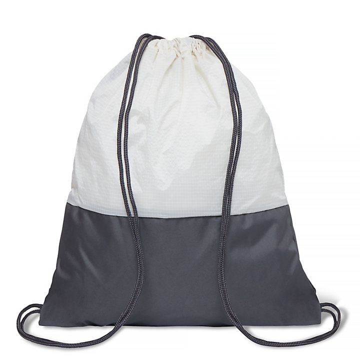 Sagano Drawstring Bag Slate Grey-