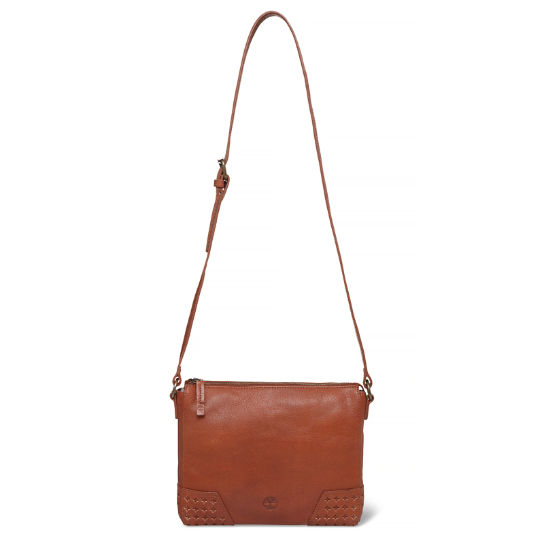 Cascade Falls Small Shoulder Bag Femme Marron | Timberland