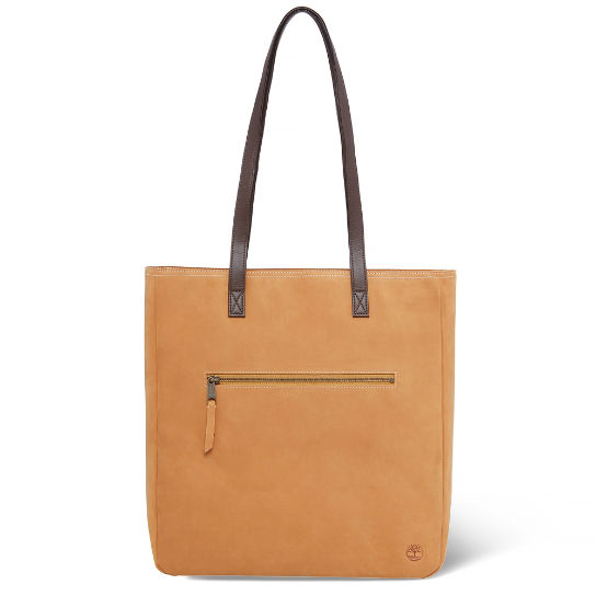 Tillston Leather Tote Bag Femme jaune | Timberland
