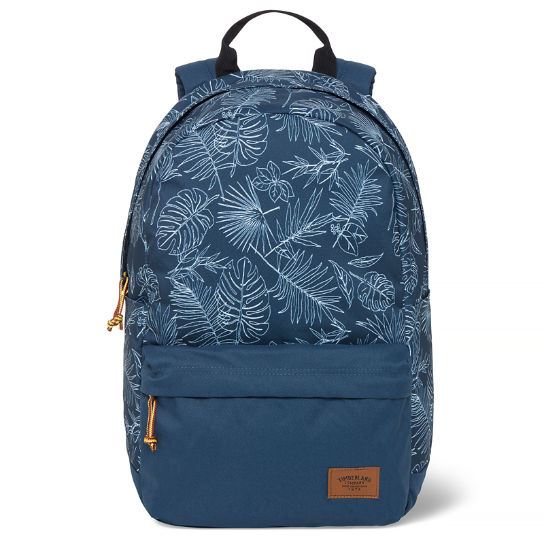 Crofton Printed Backpack Azul marino tropical | Timberland