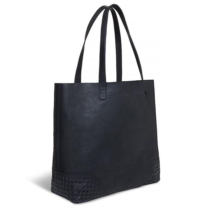 Women's Cascade Falls Shopping Bag Black-