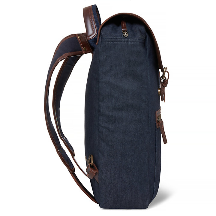 Nantasket Denim Backpack Azul-