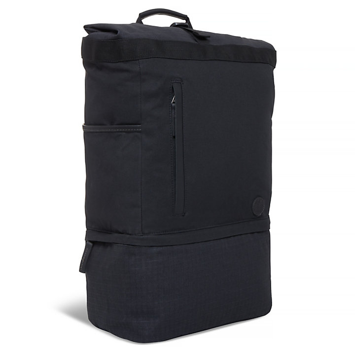 Cohasset Roll Top Backpack Black-