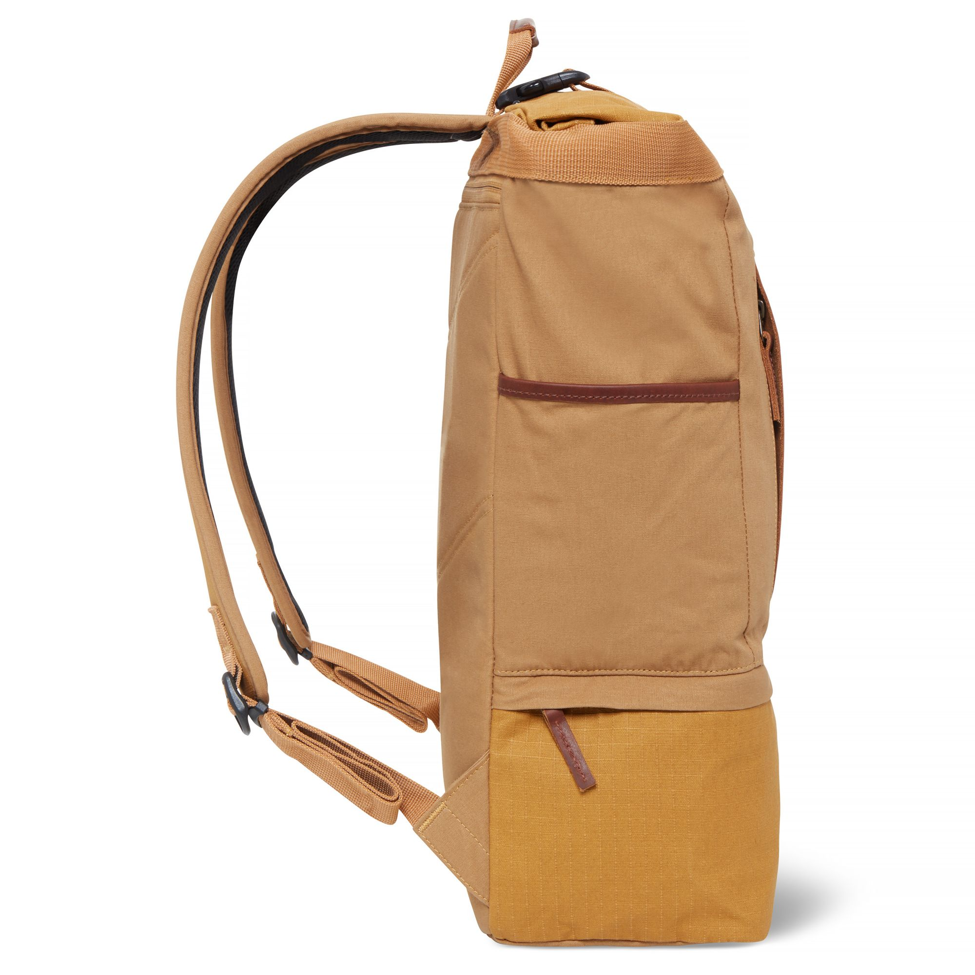 Cohasset Roll Top Backpack Yellow