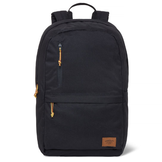 Crofton Zip Top Backpack Black | Timberland
