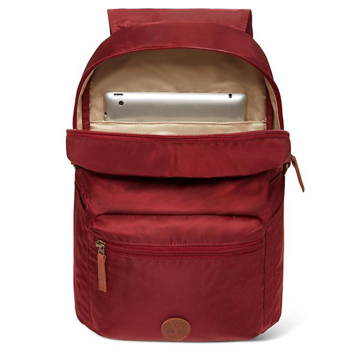Carrigain 17L Nylon Rucksack für Damen in Rot-